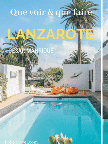 Que voir et que faire à Lanzarote Pinterest