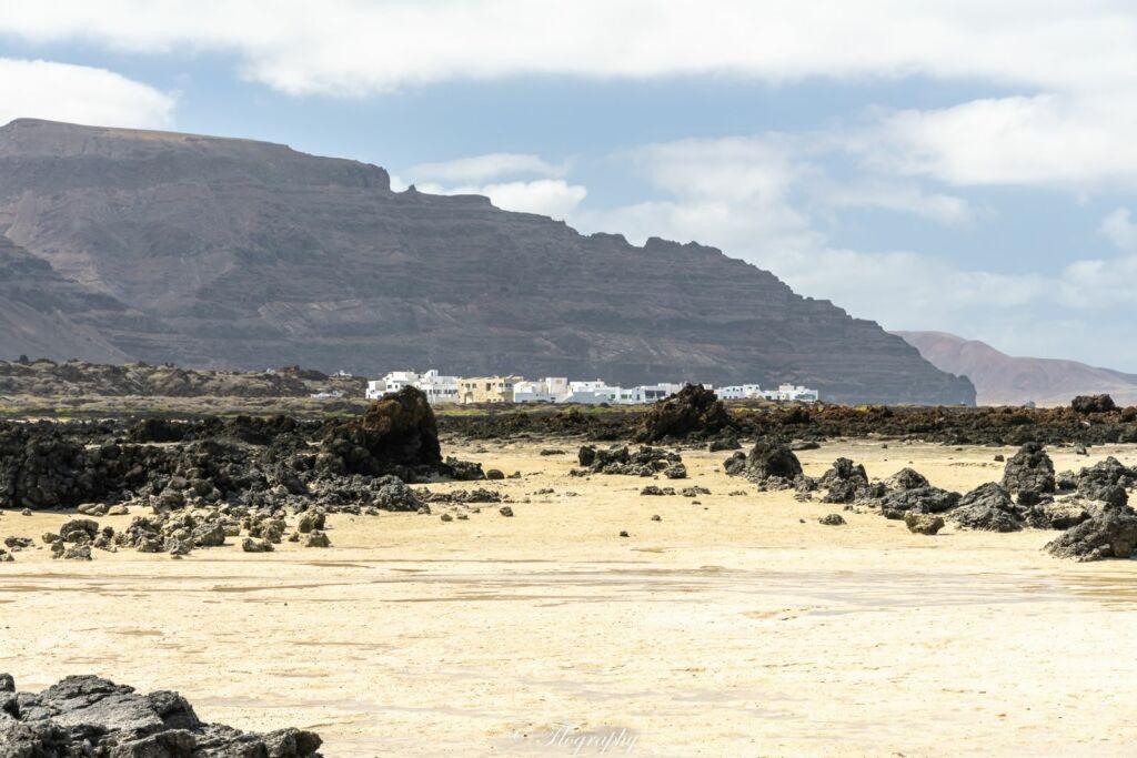 plage de Caleton Blanco à Lanzarote aux Canaries