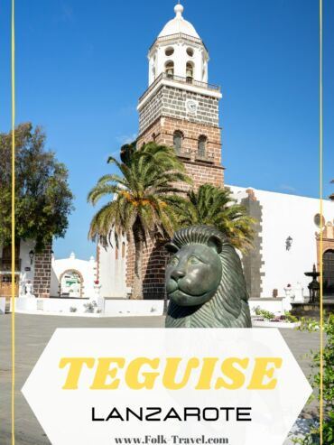 Village de Teguise à Lanzarote aux iles canaries Pinterest