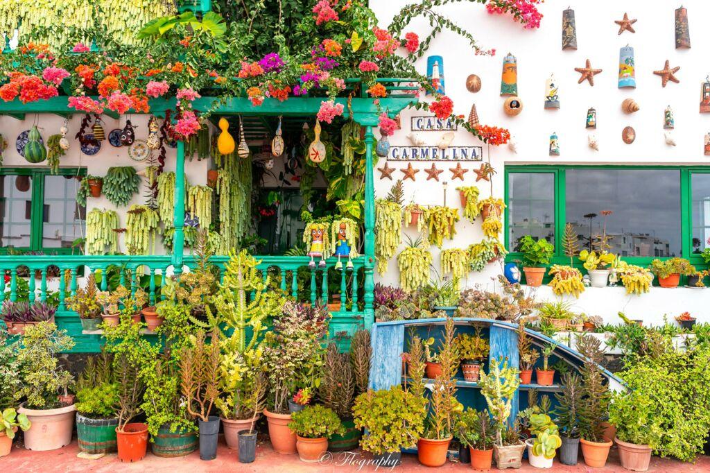 maison carmelina Punta Mujeres à Lanzarote