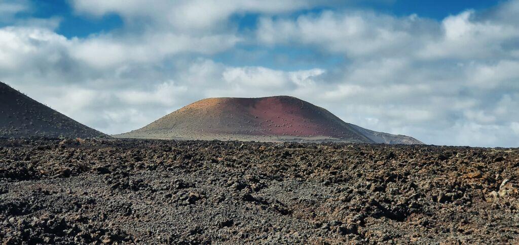 volcan coloré montanacolorada à Lanzarote