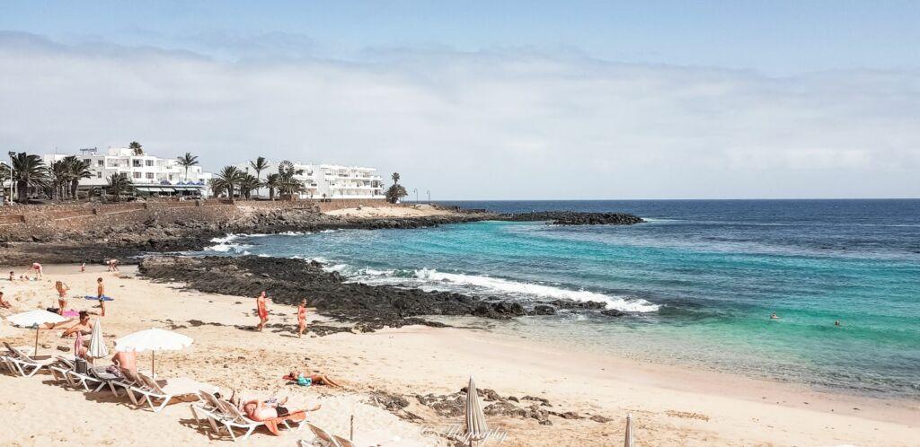 plage de puerto del carmen à lanzarote