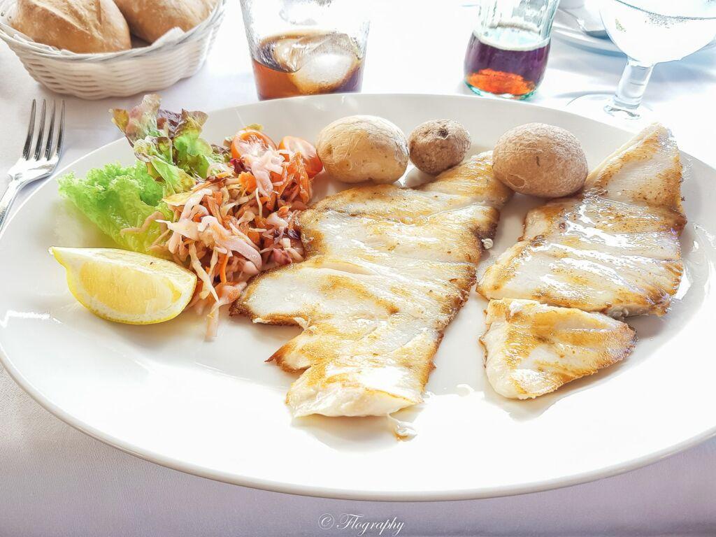 plat de poisson sabre au restaurant Casa Rafa à El Golfo à Lanzarote
