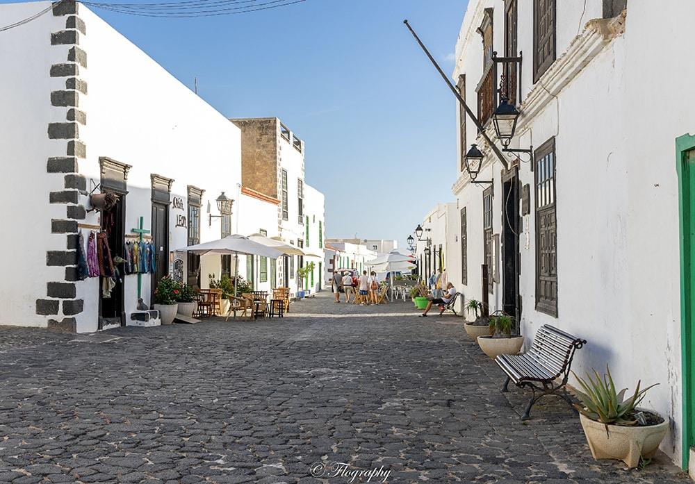 Village de Teguise à Lanzarote aux iles canaries