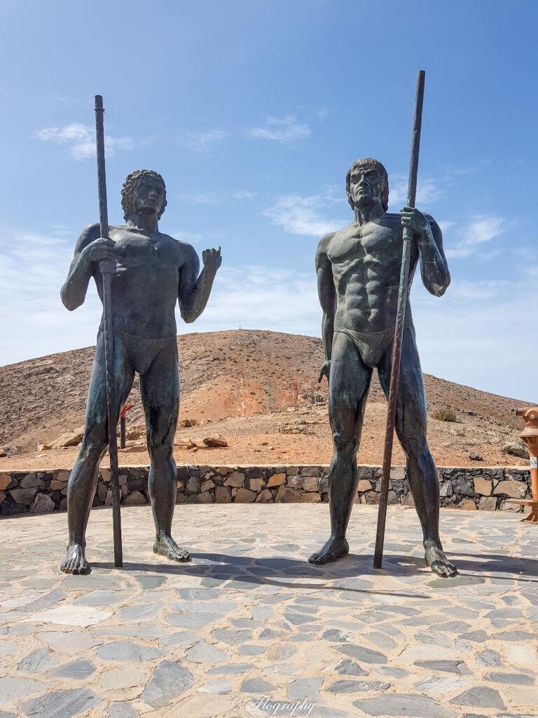 Roi Gardien Mirador de Corrales de Guize Fuerteventura