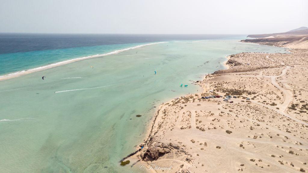 Fuerteventura lagune sotavento