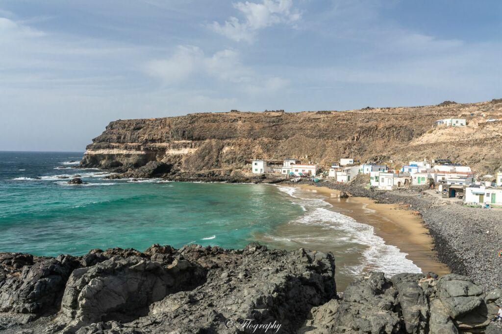 village de Puertito de los Molinos à Fuerteventura