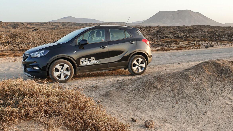 notre voiture de location aux Canaries Lanzarote