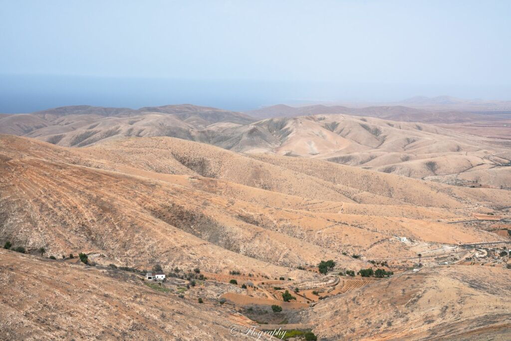 panorama du mirador de Corrales de Guize Fuerteventura