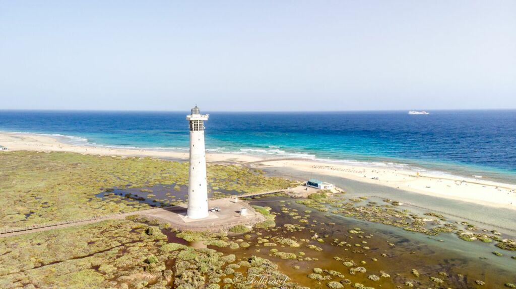 phare de Morro Jable à Fuerteventura