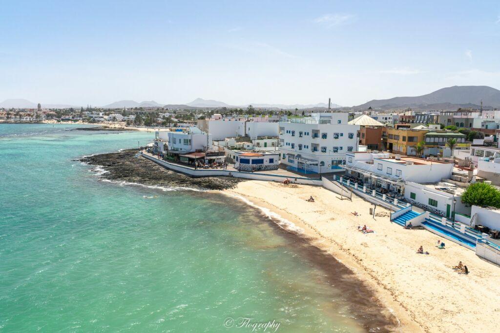 plage Clavellina à Corralejo à Fuerteventura