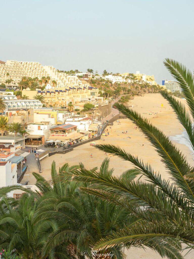 plage de morro jable à Fuerteventura