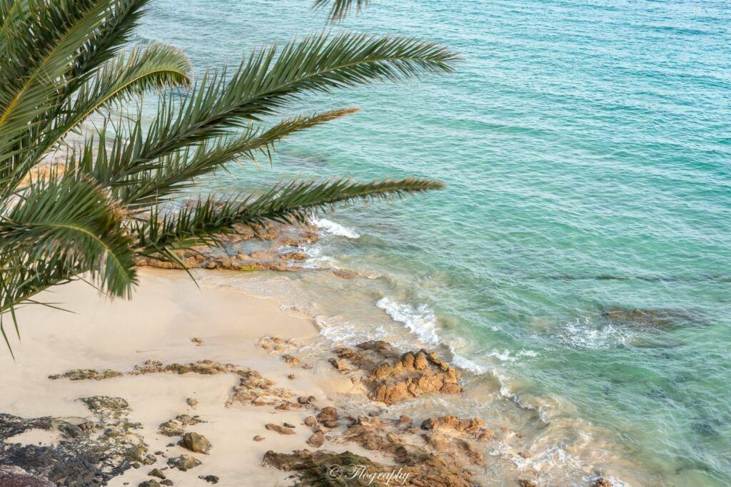 plage morro jable à Fuerteventura