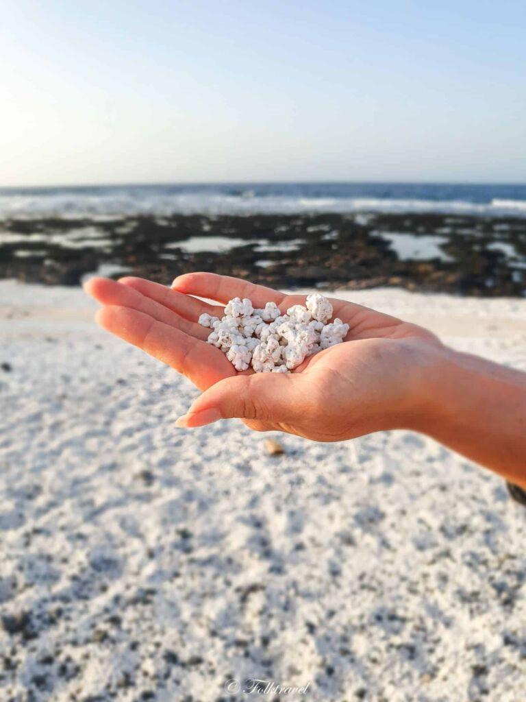 plage popcorn Bajo de la Bura fuerteventura