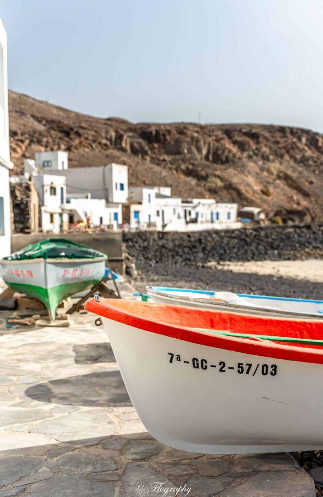 bateau plage de pozo negro à Fuerteventura
