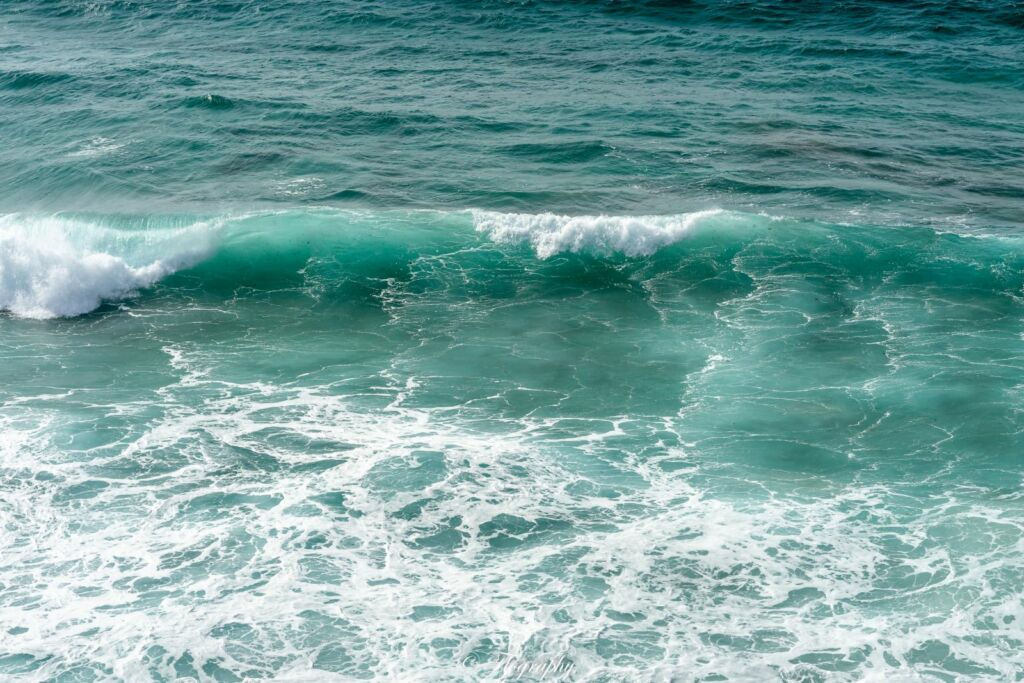 vague eau vert Fuerteventura