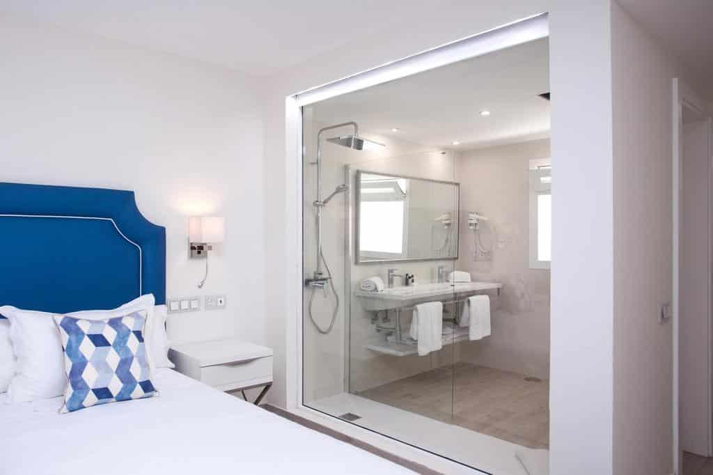 salle de bain de l'Hotel Boutique TAO Caleta Mar Corralejo