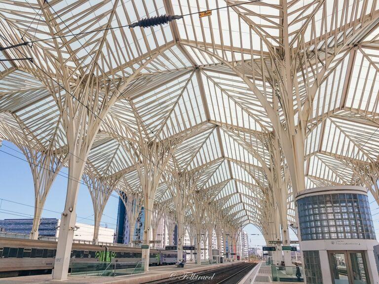 Gare Oriente à Lisbonne