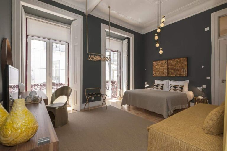 Hotel cheese and wine-lisbonne une chambre