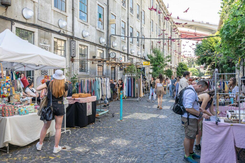 le marché de LX Factory à Lisbonne