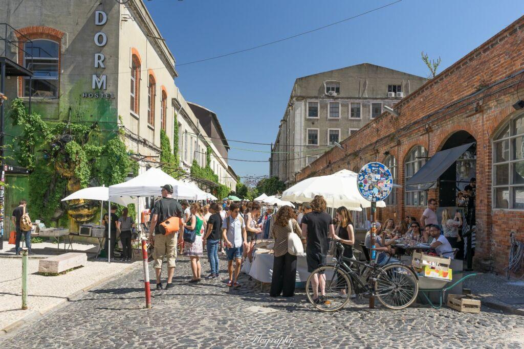 marché de LX Factory à Lisbonne