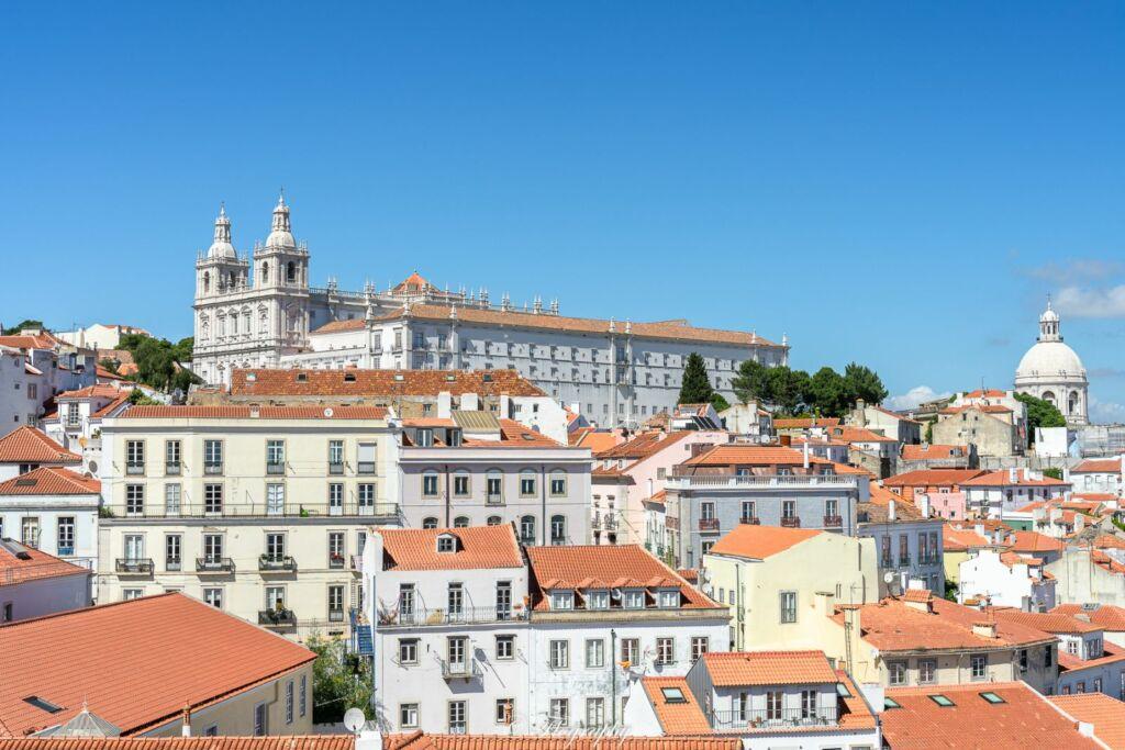 Miradouro de santa Luzia Lisbonne