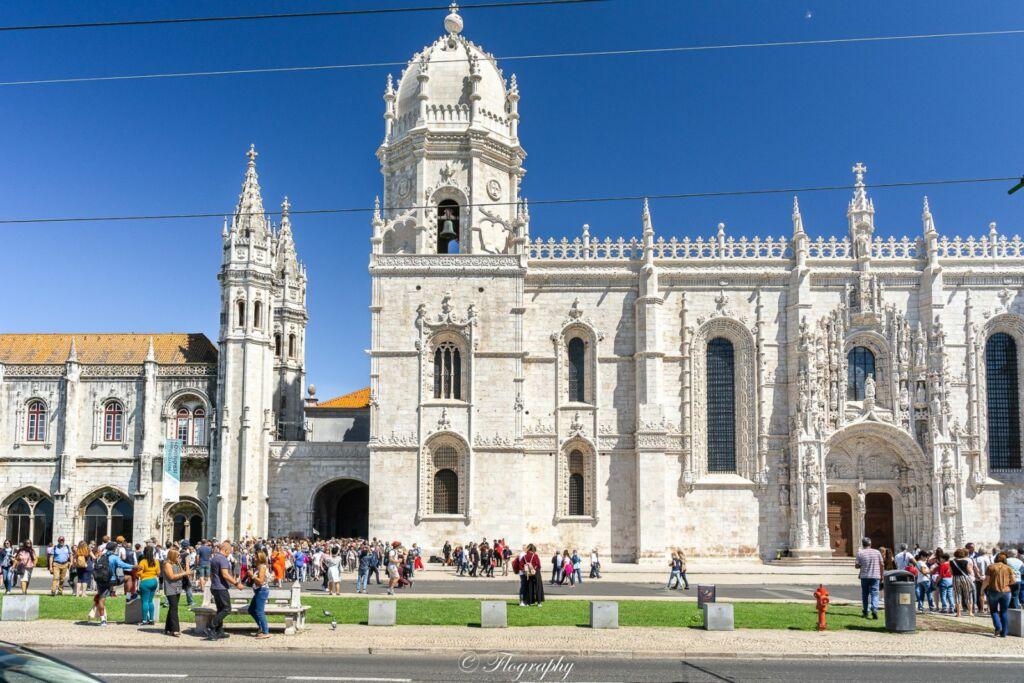 Monastère des hiéronymites à Lisbonne au Portugal