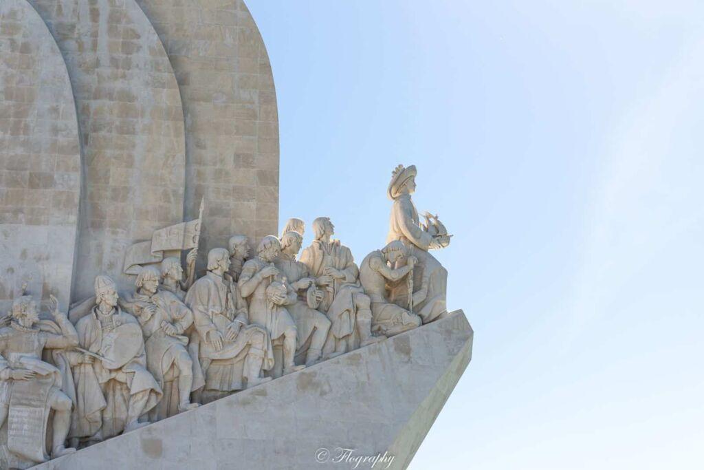 Monument des découvertes Belém à Lisbonne