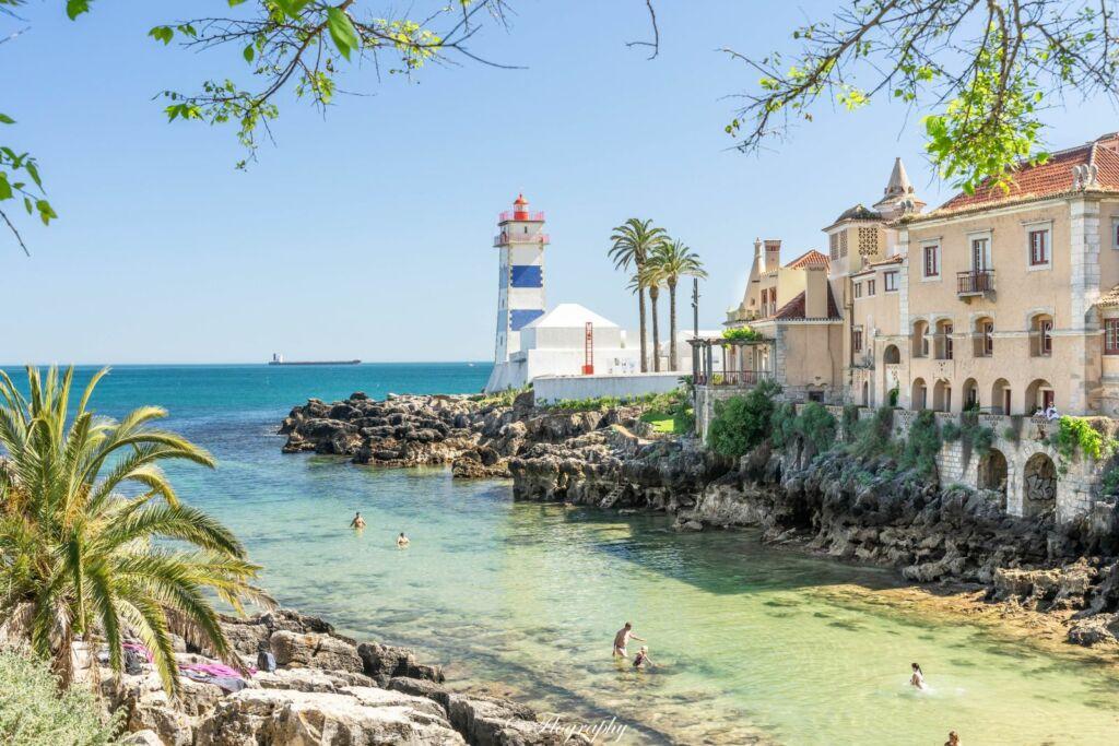le phare de Santa Marta à Cascais au Portugal