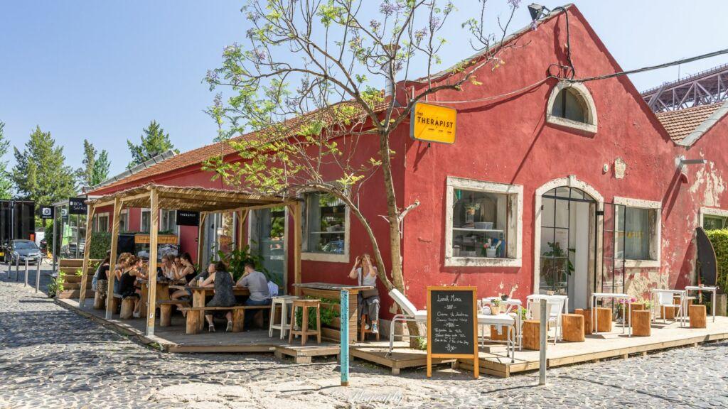 Restaurant the Therapist à LX-Factory à Lisbonne