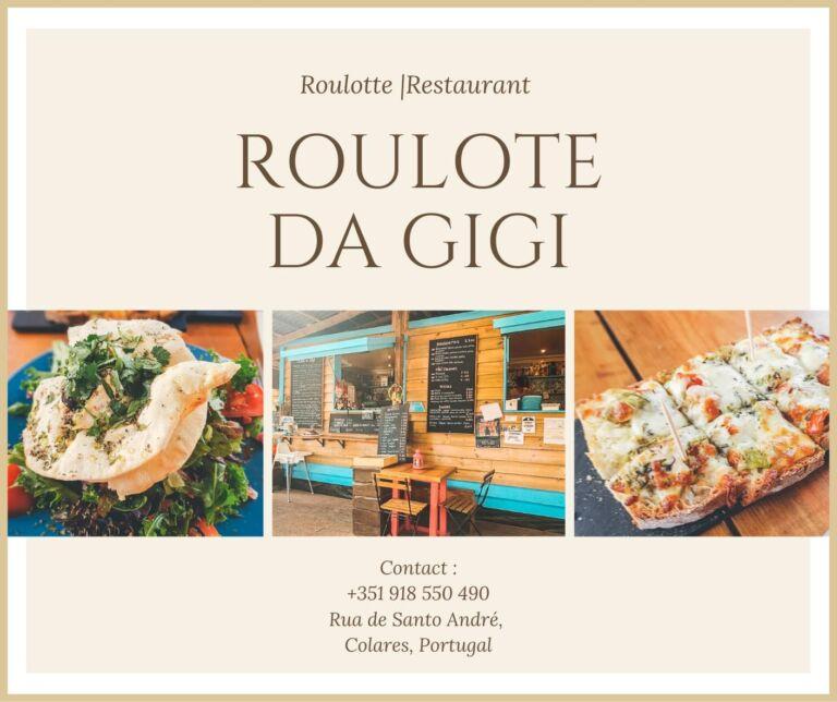 Restaurant Roulote da gigi à Colares au Portugal
