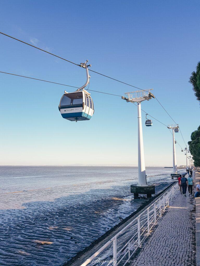 Télécabine du parc des nations à Lisbonne