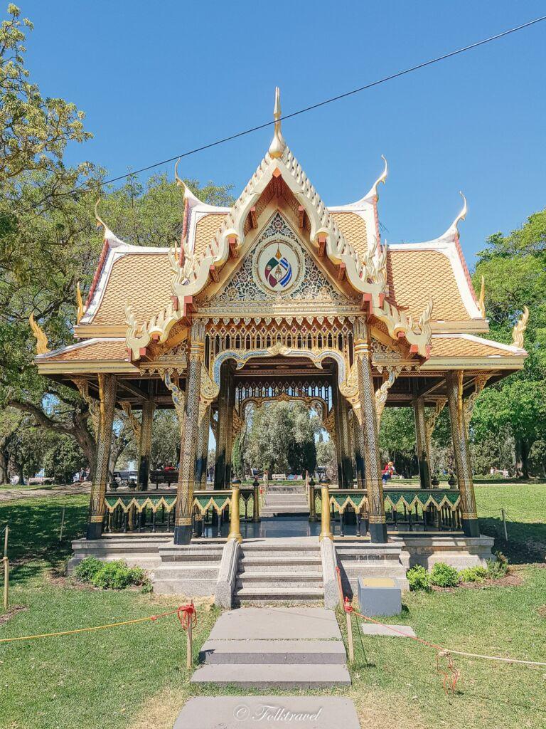 Temple Thaïlandais Jardin de Belém à Lisbonne