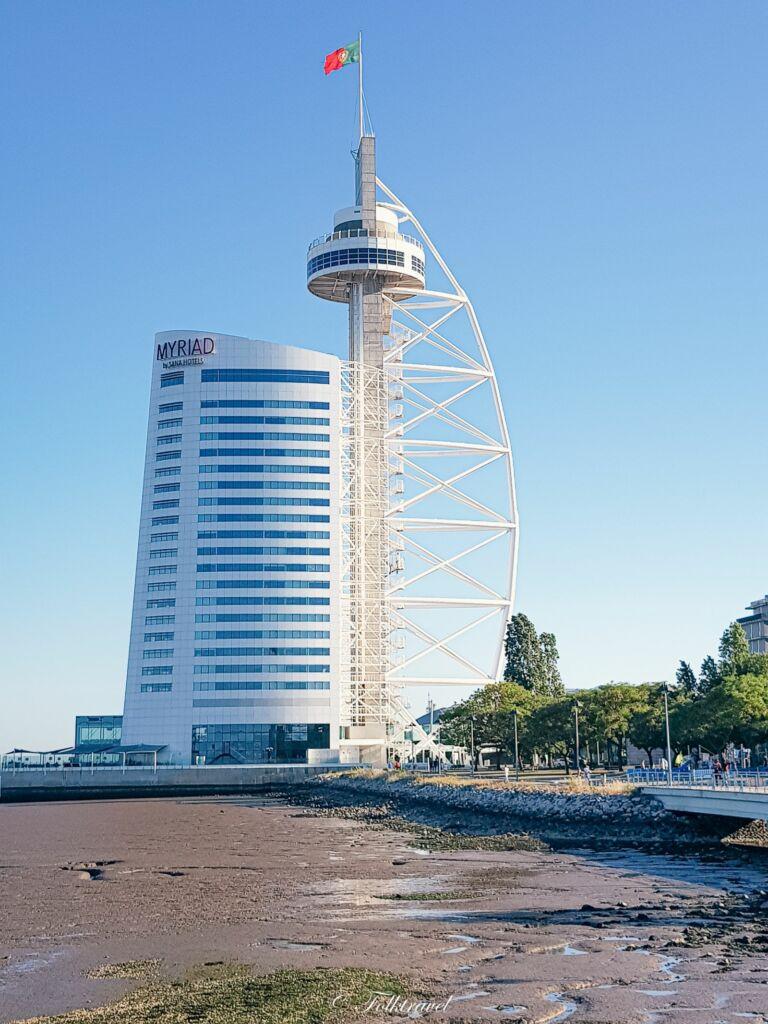Tour de Vasco Gama à Lisbonne