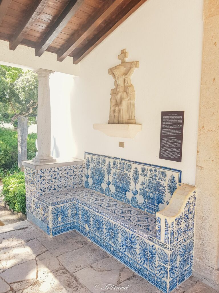 Banc d'Azulejos à Cascais au Portugal