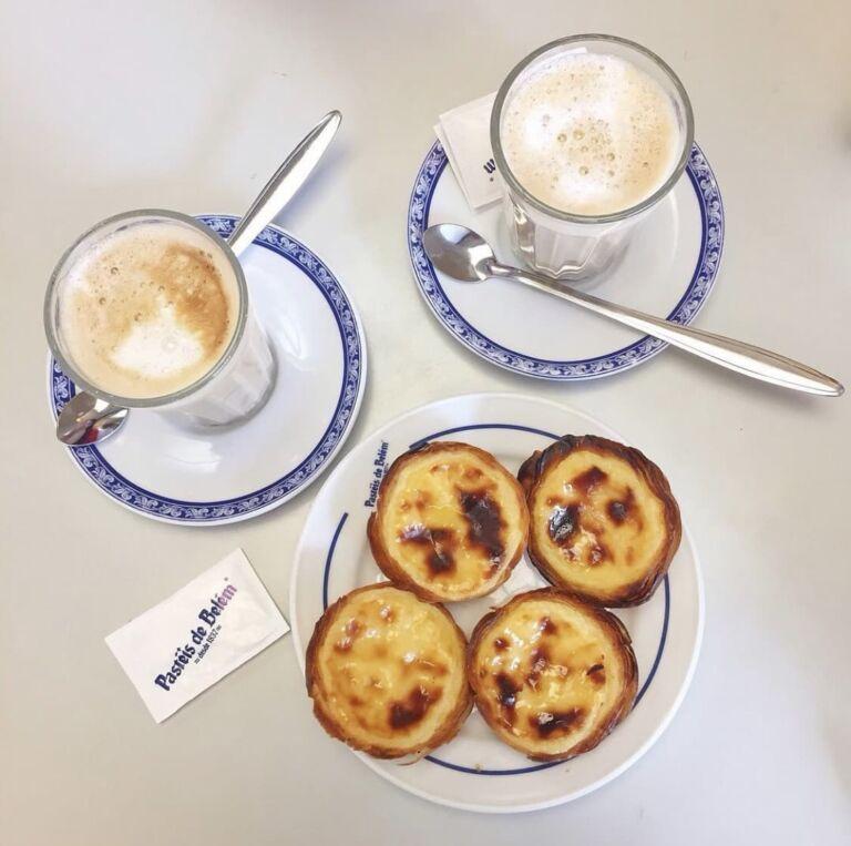 pâtisserie Pasteis de nata dans le quartier Belém à Lisbonne