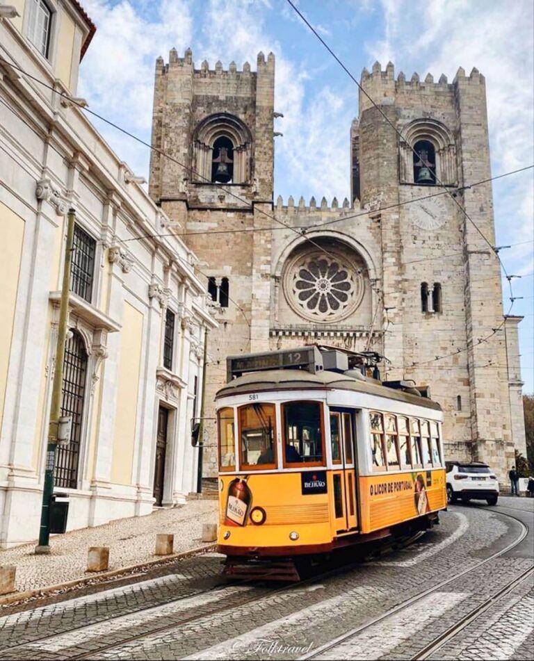 cathédrale se patriarcal à Lisbonne