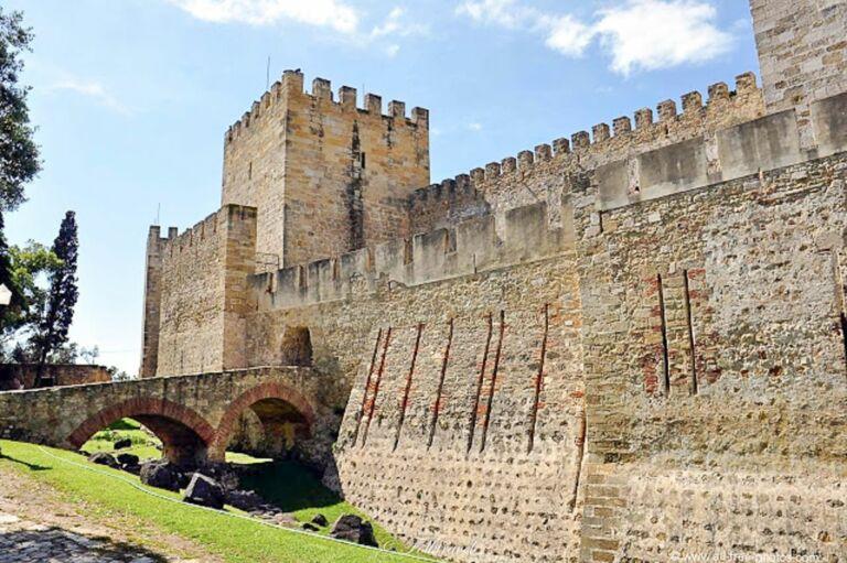 château Sao Jorge à Lisbonne
