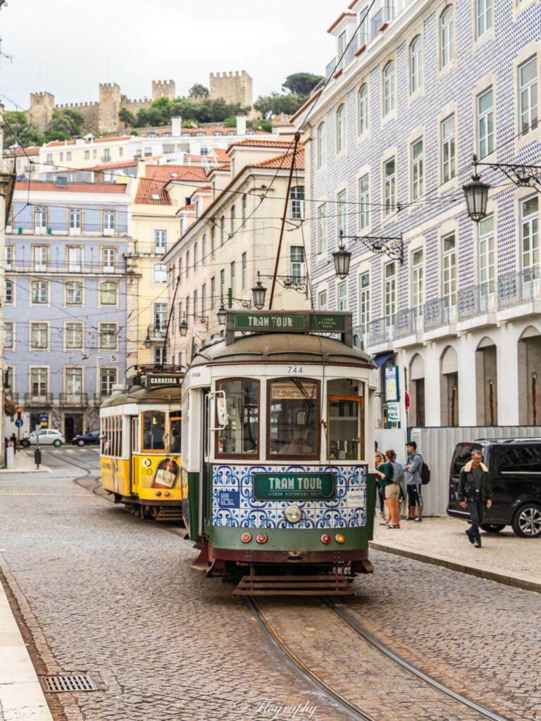 tramway de figuera à Lisbonne