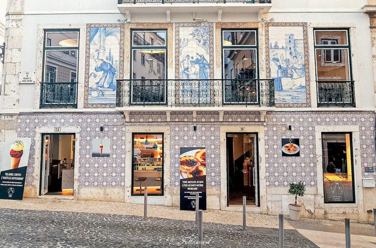 pâtisserie Santo Antonio à Lisbonne