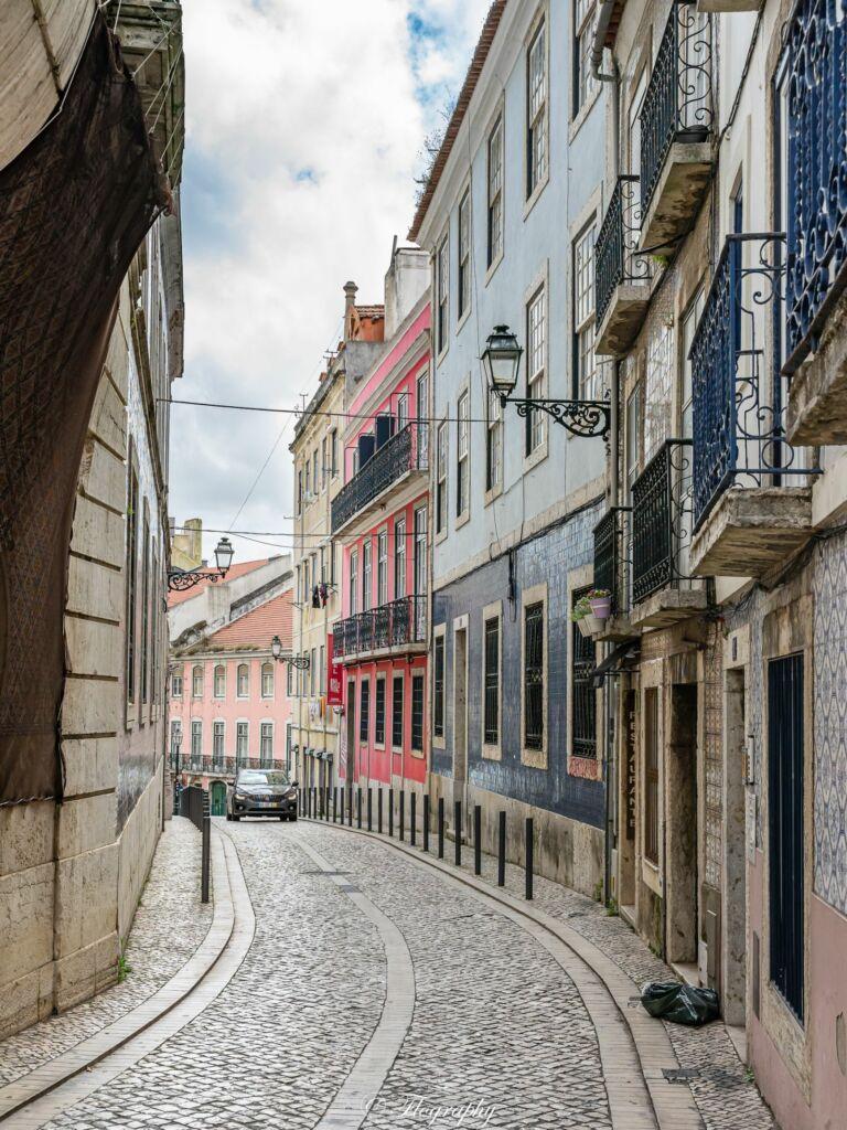 quartier Alfama à Lisbonne