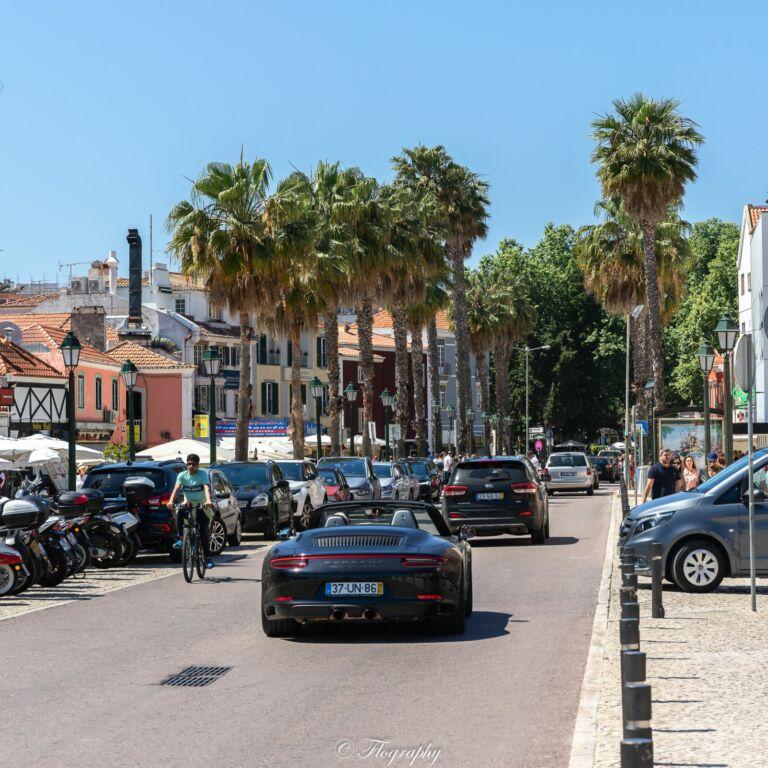 Centre ville de Cascais au Portugal