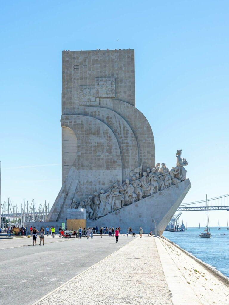 Monument des découvertes à Lisbonne