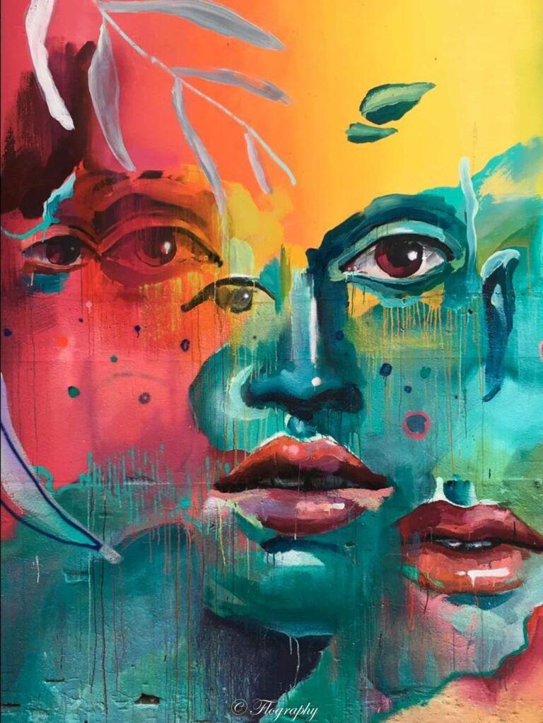 street art à lxfactory à Lisbone