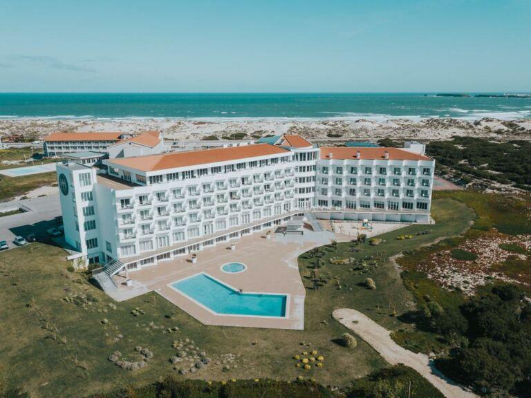 l'hôtel MH à Peniche au Portugal vue aérienne