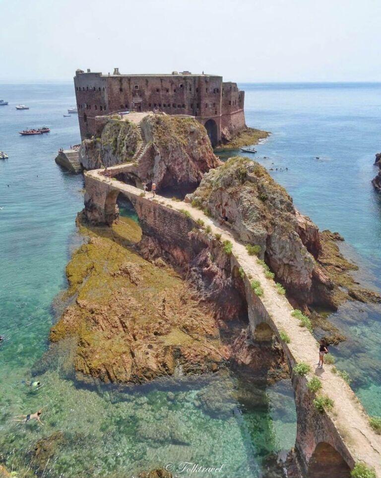archipel des Berlengas à Peniche au Portugal