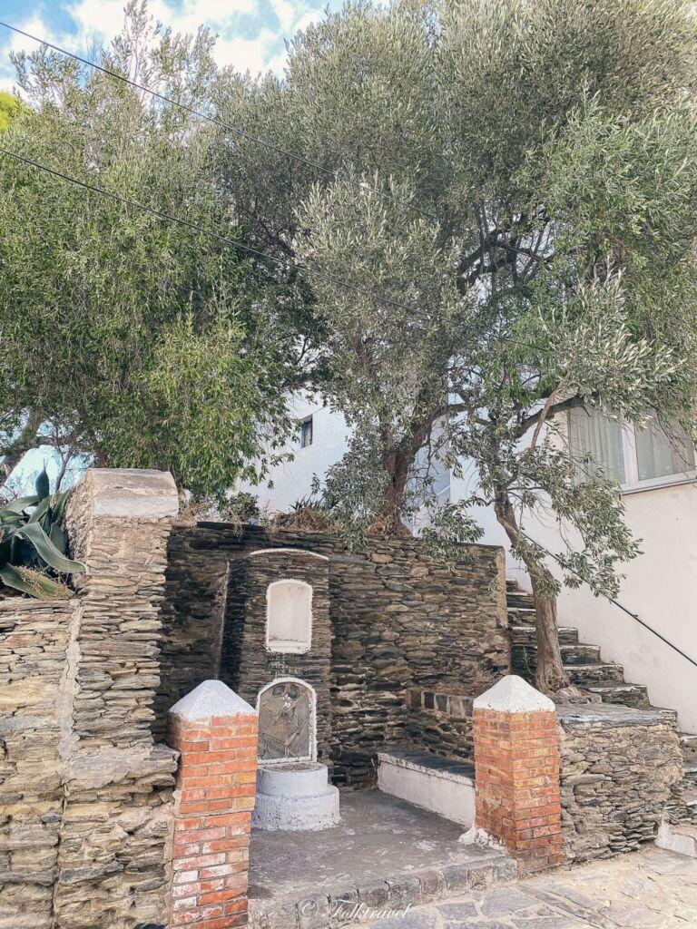 Fontaine Cadaques espagne spain espana catalunya