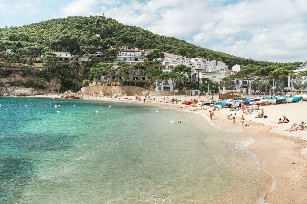 plage tamariu catalogne espagne espana catalunya beach playa