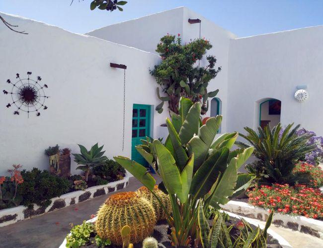 Jardin intérieur de l'hôtel