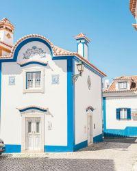 Maison-bleu et-blanche-Ericeira chambre d'hôtes location de vacances